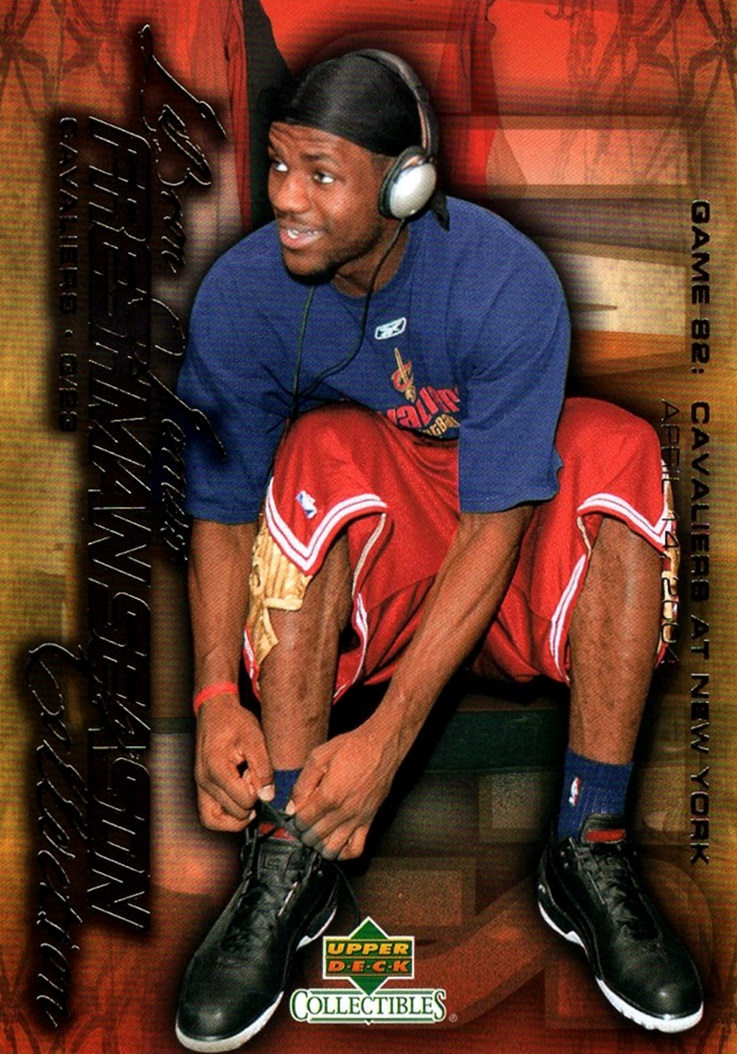 2004 LeBron James Freshman Season #86 (1)