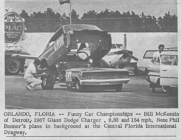 Bill McKesson Charger AWB Orlando 32467 DN