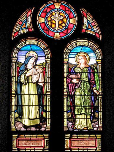 SAINT ANN'S CHURCH - STAINED GLASS - 37