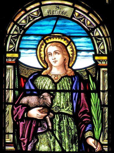 SAINT ANN'S CHURCH - STAINED GLASS - 40