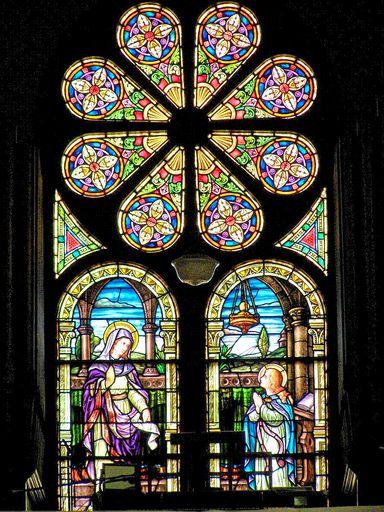 SAINT ANN'S CHURCH - STAINED GLASS - 50
