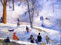 Sledding, Central Park [1912]