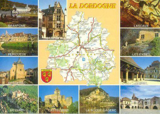 Dordogne Map (24)