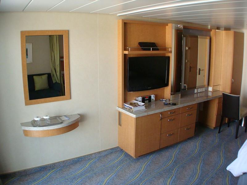 Junior Suite Cabin on DECK 11