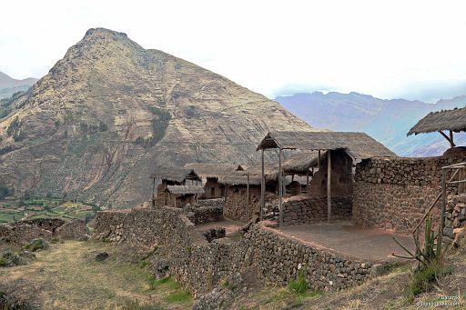 Ruiny inkaskiego fortu (?)