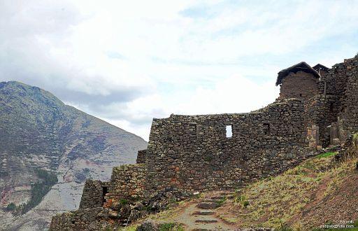 Resztki budowli Inków