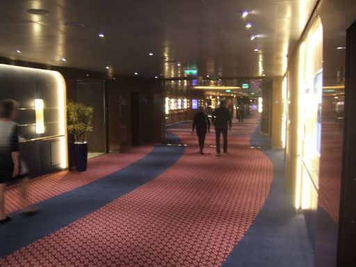 Wide Passageway on Deck 2