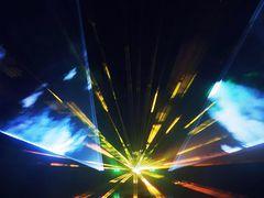 Lasershow im Kurpark