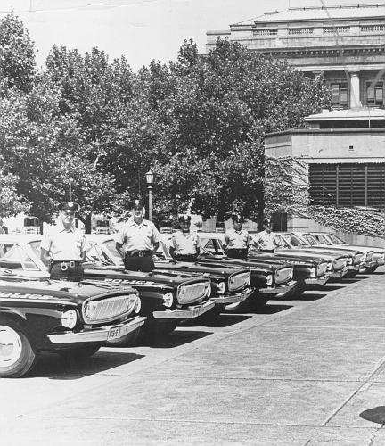 OH - Cleveland Police 1962 Dodges