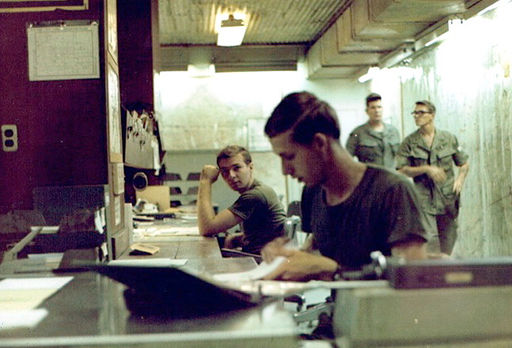 68-Buck, RVN, 1970, Tactical Operations Center