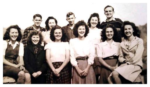 Norma High School class 1947-1948