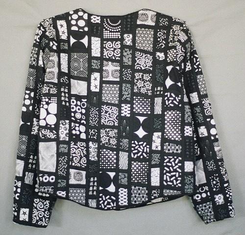 Black & White & Dots All Over