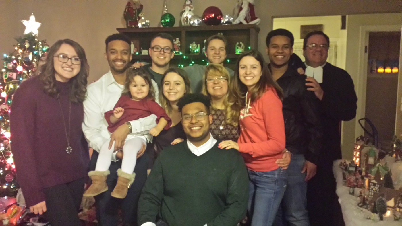 Missing a few people but one of the better family photos!
