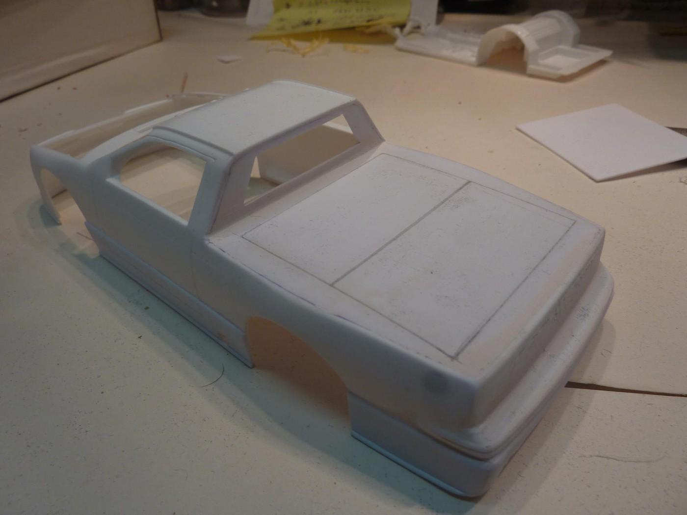 Ford T Bird Pickup racer Bonneville ( Ex Nascar) terminée  Photo10-vi