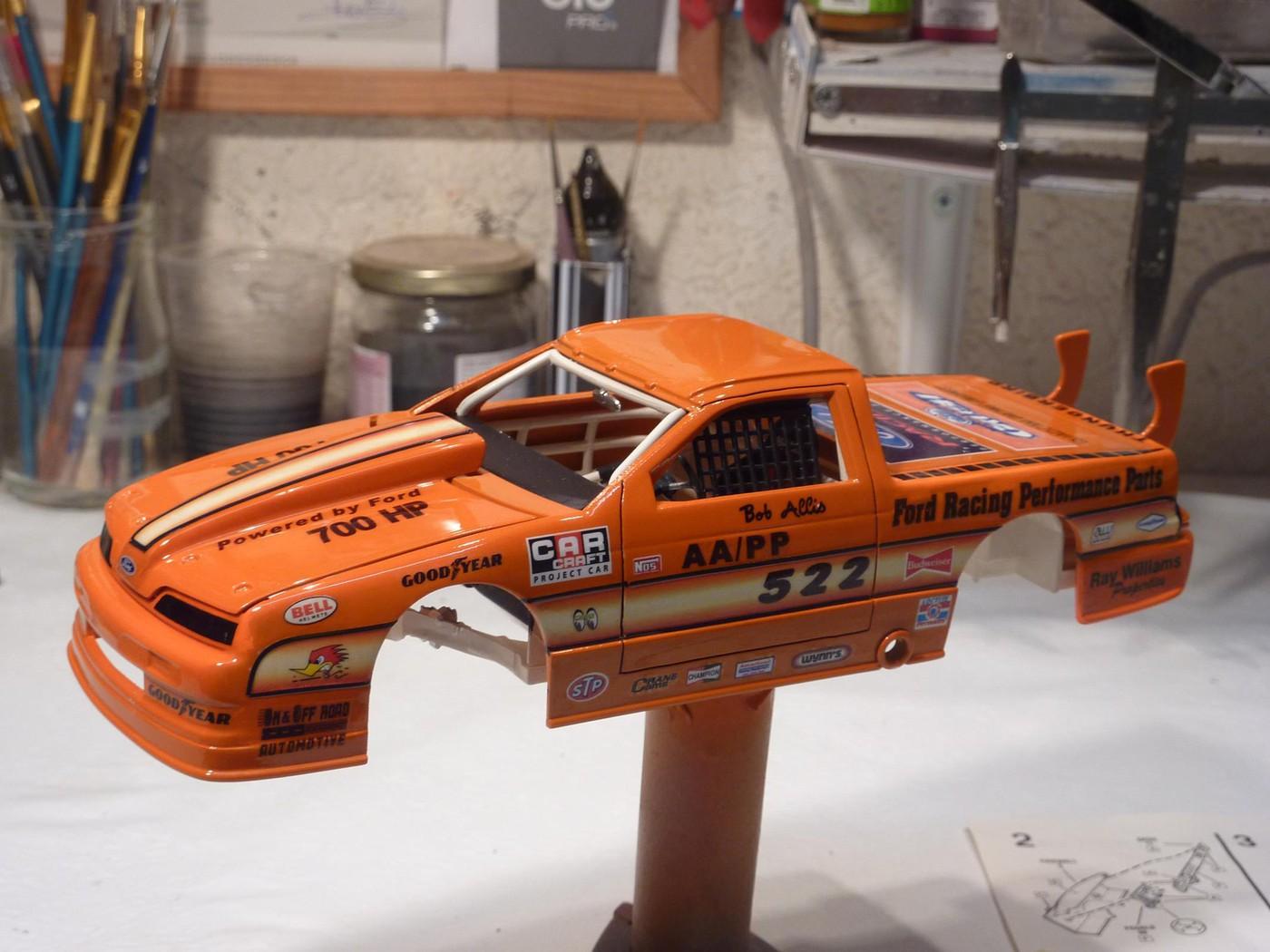 Ford T Bird Pickup racer Bonneville ( Ex Nascar) terminée  - Page 2 Photo32-vi